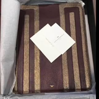 アニヤハインドマーチ(ANYA HINDMARCH)のアニヤ アイパッド iPod 羊皮 定価47000円 インナーバック(iPadケース)