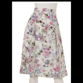 JUSGLITTY♡ボタニカルフラワースカート