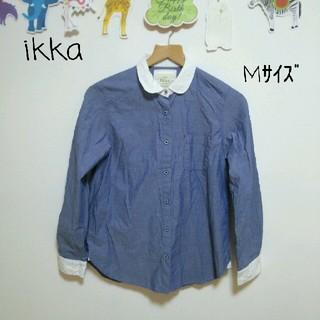 イッカ(ikka)のMサイズ【ikka】(シャツ/ブラウス(長袖/七分))