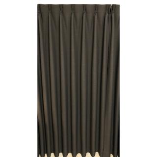 カーテン3枚セット 遮光1級 ブラック
