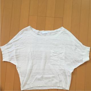 インデックス(INDEX)のINDEX 半袖 カットソー サマーニット(カットソー(半袖/袖なし))