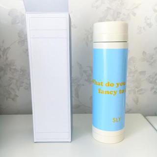 スライ(SLY)の〈新品〉SLY スリムサーモステンレスボトル300ml ノベルティ(タンブラー)