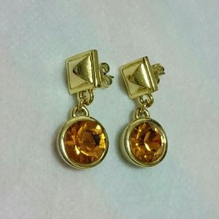 アッシュアンドダイアモンド(ASH&DIAMONDS)のASH&DIAMONDS ストーンピアス(ピアス)