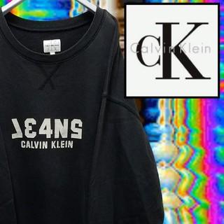 カルバンクライン(Calvin Klein)のCALVIN KLEIN カルバン・クライン スウェット 古着 ストリート系 L(スウェット)