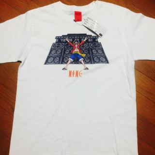 ナインルーラーズ(NINE RULAZ)のNINE ONEPEACEコラボ 白T Mサイズ(Tシャツ/カットソー(半袖/袖なし))