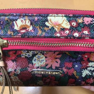 バイオレットハンガー(Violet Hanger)のバイオレットハンガー 花柄★長財布(財布)
