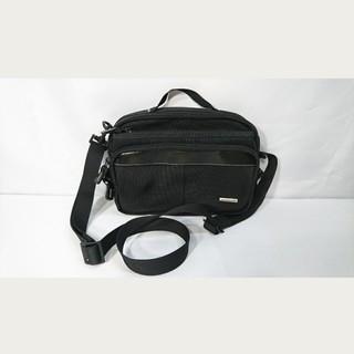 エースジーン(ACE GENE)の極美品本物エースジーン未使用ビジネスバッグショルダーバックブラック黒トラベル旅行(ビジネスバッグ)