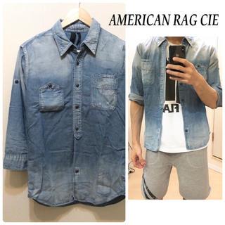 アメリカンラグシー(AMERICAN RAG CIE)のAMERICAN RAG CIEデニムシャツ七分袖シャツ送料込(シャツ)