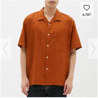 ジーユー(GU)のジーユー オープンカラービックシャツ(シャツ)