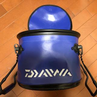 DAIWA - ダイワ活かしバッカン ネイビー サイズ30cm