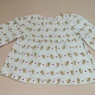 ジンボリー(GYMBOREE)のジンボリー ネコの長袖トップス 18-24mos(シャツ/カットソー)