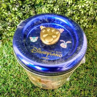 香港 ディズニー 日本未発売 ダッフィー メイ トーニ ルー 缶入りクッキー