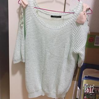 イング(INGNI)のINGNI 肩出しセーター(ニット/セーター)