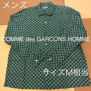 コムデギャルソン(COMME des GARCONS)のメンズ コムデギャルソンオム グリーン長袖シャツ (シャツ)