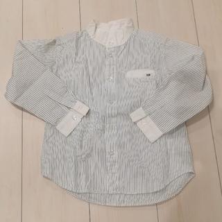 シーシーエム(CCM)のコムサ ストライプシャツ110cm(ドレス/フォーマル)