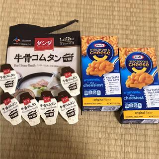 牛骨コムタン ダシダ & マカロニチーズ  コストコ セット(その他)