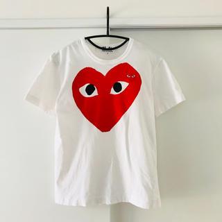 コムデギャルソン(COMME des GARCONS)のPLAY COMME des GARCONS Tシャツ(Tシャツ/カットソー(半袖/袖なし))