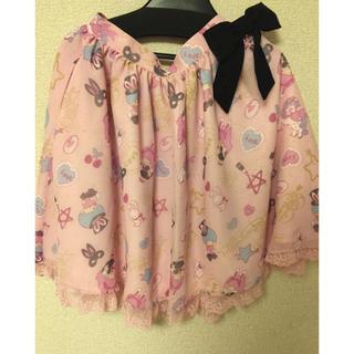 アンジェリックプリティー(Angelic Pretty)のcosmetic bunny スカート(ひざ丈スカート)