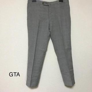 ジーティーアー(G.T.A)の正規品 GTA ウール スラックス ライトグレー(スラックス)