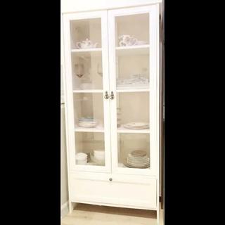 イケア(IKEA)のイケア、キャビネット、収納棚食器棚ヘムネス(棚/ラック/タンス)