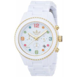 アディダス(adidas)の送料込 中古 adidas アディダス ブリスベン ADH2945 ホワイト(腕時計)