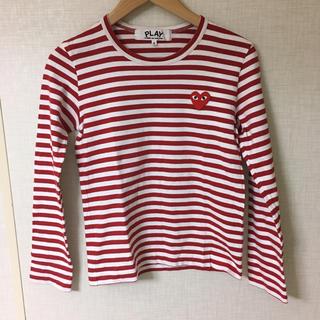 コムデギャルソン(COMME des GARCONS)のコムデギャルソン ボーダー Tシャツ(Tシャツ(長袖/七分))
