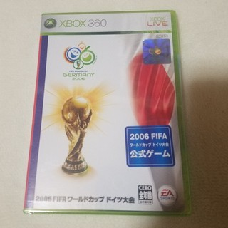 エックスボックス360(Xbox360)の2006FIFAワールドカップ ドイツ大会 XBOX360ソフト未開封 送料無料(家庭用ゲームソフト)