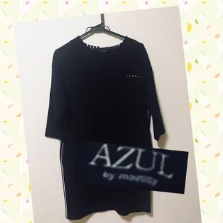 アズールバイマウジー(AZUL by moussy)のAZUL by moussyワンピース(ミニワンピース)