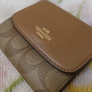 コーチ(COACH)の新品!正規品 COACH 3つ折り財布(財布)