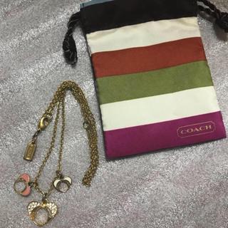コーチ(COACH)のcoach  ネックレス【収納袋付き】【最終価格】(ネックレス)