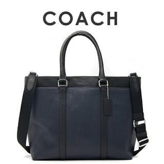 コーチ(COACH)の正規保証 コーチ スムースレザー トートビジネスバッグ 新品(トートバッグ)