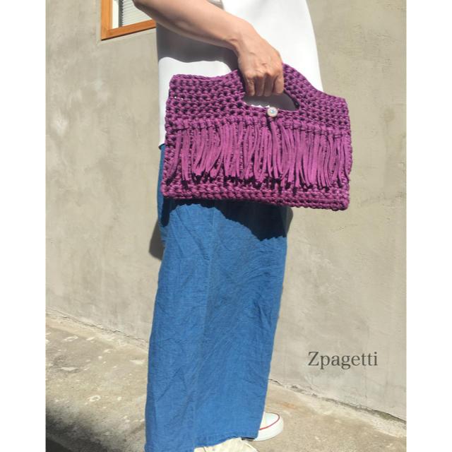 気軽にお散歩バッグ ハンドメイドのファッション小物(バッグ)の商品写真