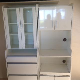 イケア(IKEA)の食器棚 2つセット(キッチン収納)