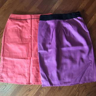 ジャスグリッティー(JUSGLITTY)のスカート2点(ひざ丈スカート)