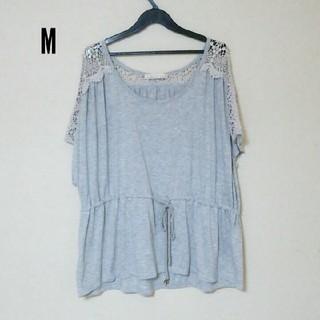 イッカ(ikka)のikka グレー(Tシャツ(半袖/袖なし))