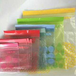イケア(IKEA)のIKEAジップロック15枚セット(収納/キッチン雑貨)