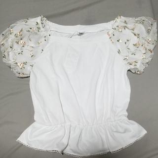 シマムラ(しまむら)の【L】袖ハナレーストップス(Tシャツ(半袖/袖なし))