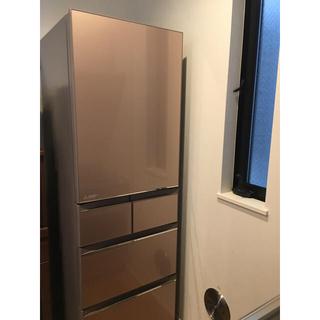 ミツビシデンキ(三菱電機)の三菱 冷凍 冷蔵庫 MR-B46A-P(冷蔵庫)
