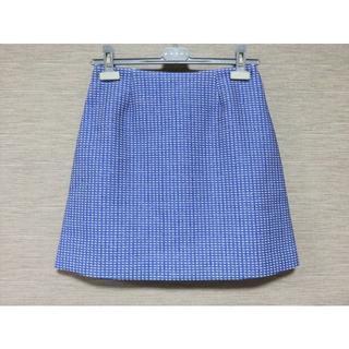 ジェイアンドエムデヴィッドソン(J&M DAVIDSON)の定価7万 新品 J&M DAVIDSON スカート 8 デヴィッドソン(ひざ丈スカート)