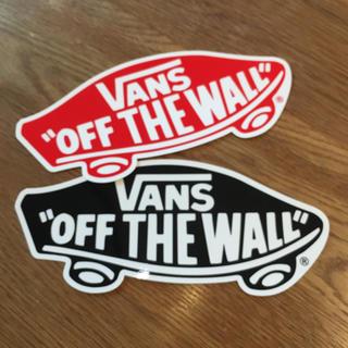 ヴァンズ(VANS)のvans バンズ ビッグ ステッカー (その他)