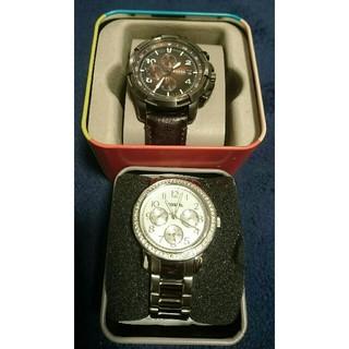 フォッシル(FOSSIL)のFOSSIL 腕時計 茶色のみ(腕時計(アナログ))