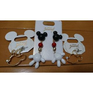 Disney - ミッキーマウスピアスセット