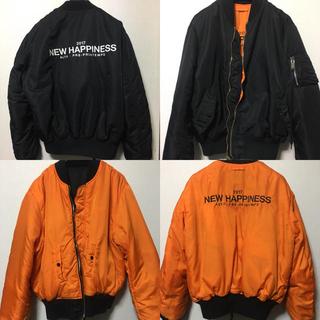 """【即日発送】ALYX """"NEW HAPPINESS"""" bomber jacket(フライトジャケット)"""
