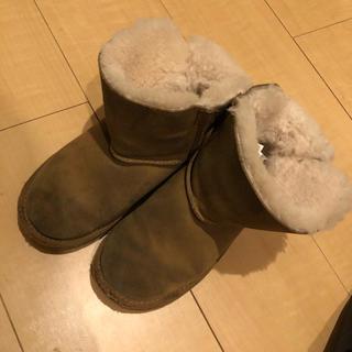 アグ(UGG)のugg / リボンムートン / 17.5cm(ブーツ)