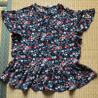 ギャップ(GAP)のGAP フラワープリントブラウス(シャツ/ブラウス(半袖/袖なし))