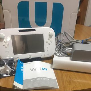 ウィーユー(Wii U)のwiiu 本体 premiumセット 32GB  白 (家庭用ゲーム機本体)