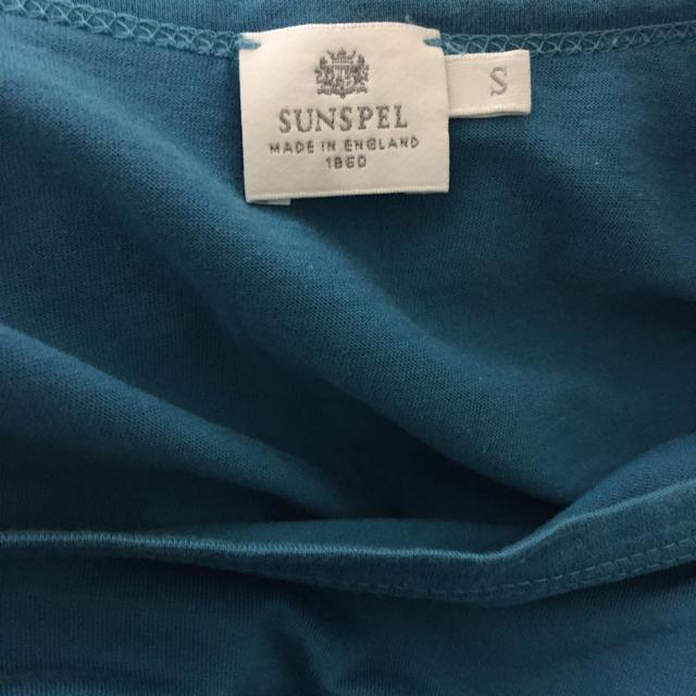 SUNSPEL(サンスペル)のブランド古着 SUNSPEL サンスペル スカイブルー 水色 半袖 Tシャツ メンズのトップス(Tシャツ/カットソー(半袖/袖なし))の商品写真
