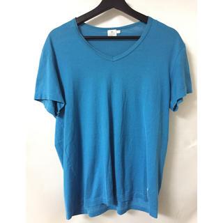 サンスペル(SUNSPEL)のブランド古着 SUNSPEL サンスペル スカイブルー 水色 半袖 Tシャツ(Tシャツ/カットソー(半袖/袖なし))