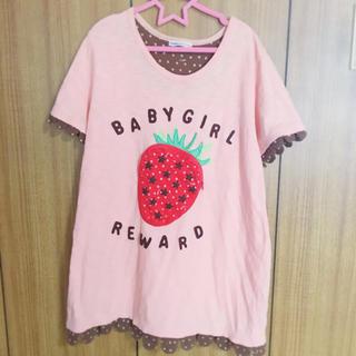 ラフ(rough)のいちごポケットTシャツ(Tシャツ(半袖/袖なし))