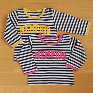 60サイズ ロングTシャツ2枚(Tシャツ)